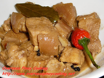 Pork Adobo in Coconut Milk