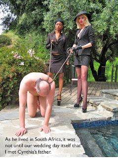 femdom caption husband in law slave