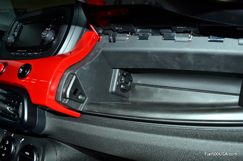 Fiat 500X Upper Glove Compartment