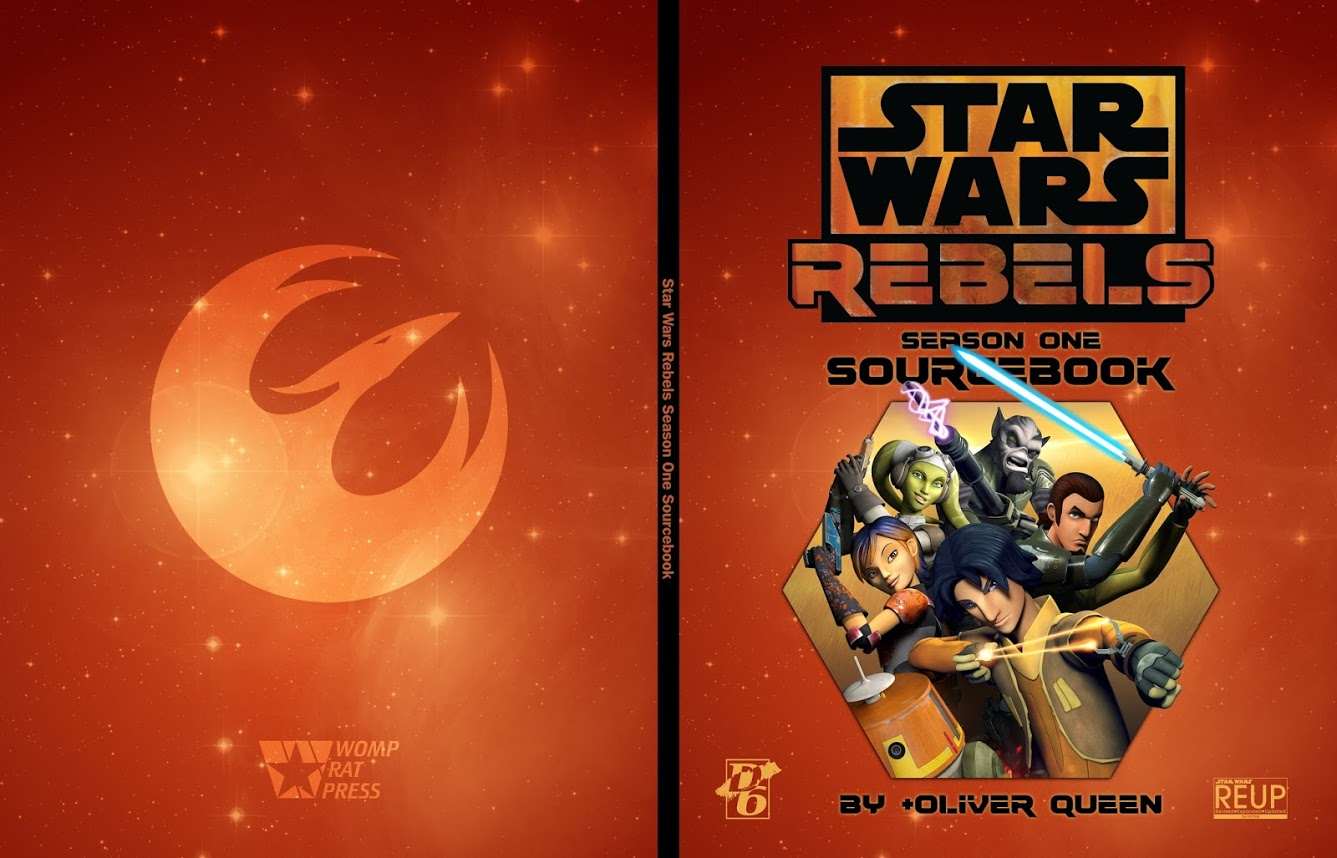The Geek Flag Rebels Season One Source Books For Edge Of Empire Dvd Original Film  Star Wars 1 And D6 Reup
