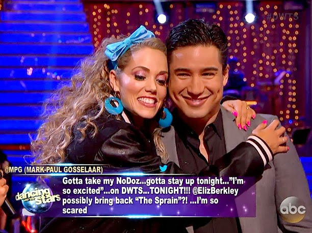 elizabeth and val dwts dating