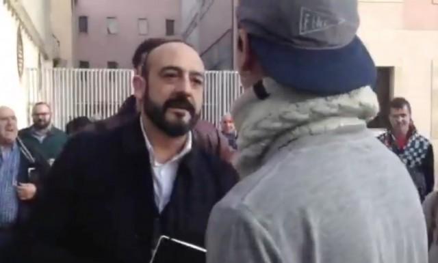 Jordi Cañas (Ciudadanos) a punto de llegar a las manos con un estudiante