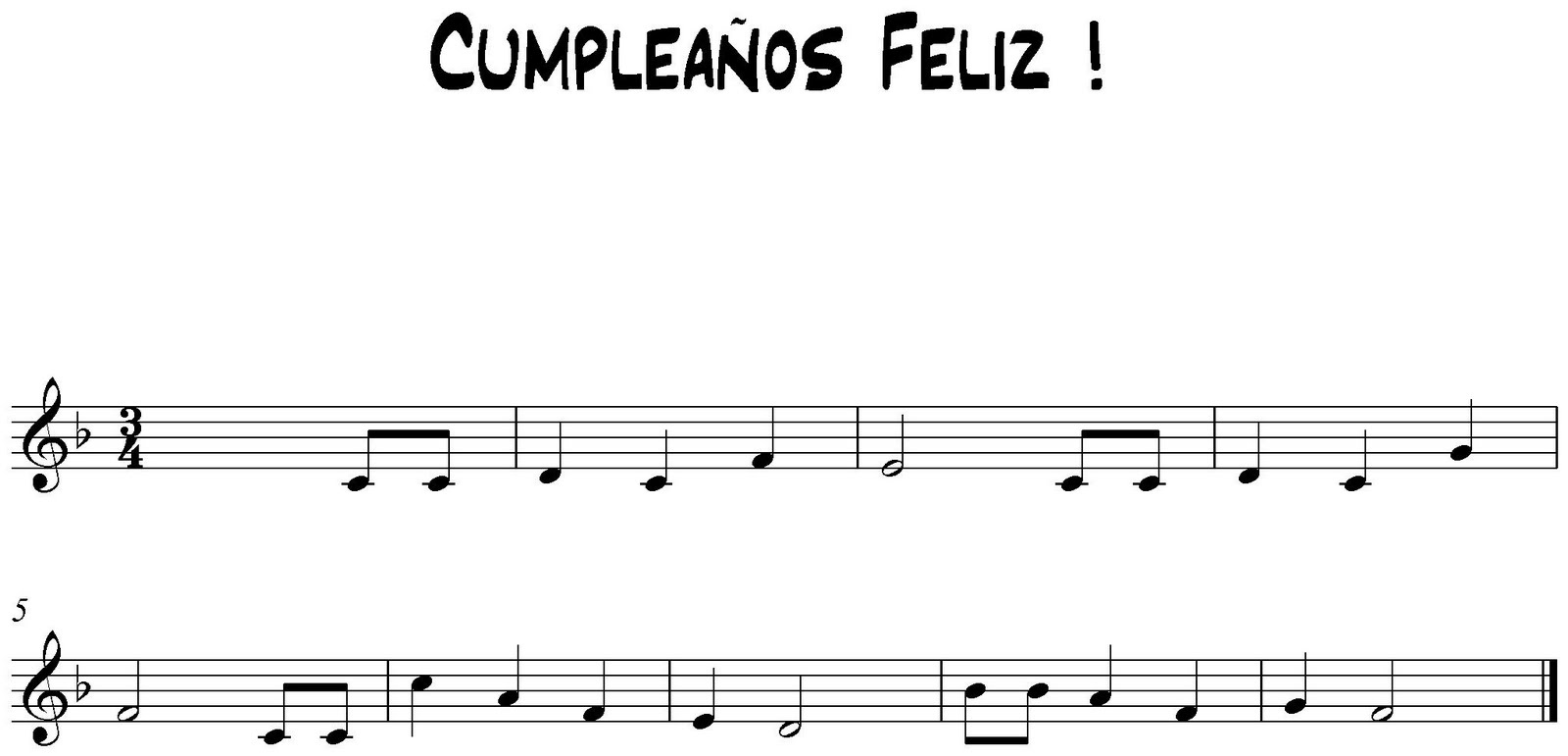 M sica cep doramas cumplea os feliz partitura - Cumpleanos feliz piano ...