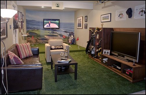 Decorating theme bedrooms - Maries Manor: man cave decorating ...