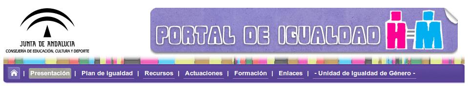 Portal de Igualdad Junta de andalucía