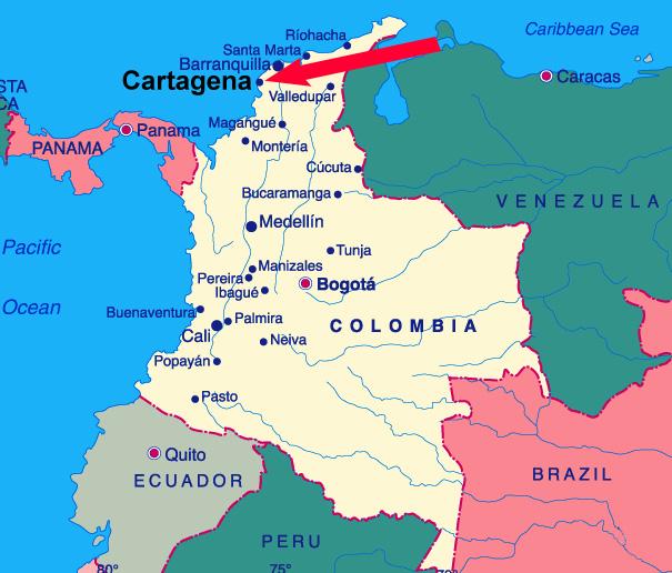 Cartagena Colombia  city photos gallery : Blog da Jú Bley: Destino Virtual: Colômbia Cartagena e San Andrés
