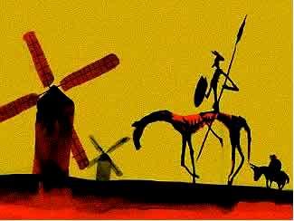 Dibujo de Don Quijote de la Mancha (Obra mas conocida por Miguel del Cervantes Saavedra)