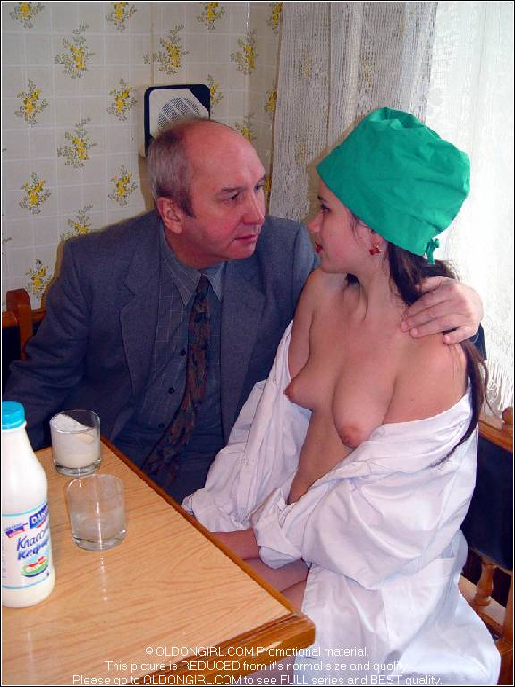 Naked grand dad fucking grand daughter