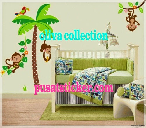 wall sticker new three monkey - olivacollection