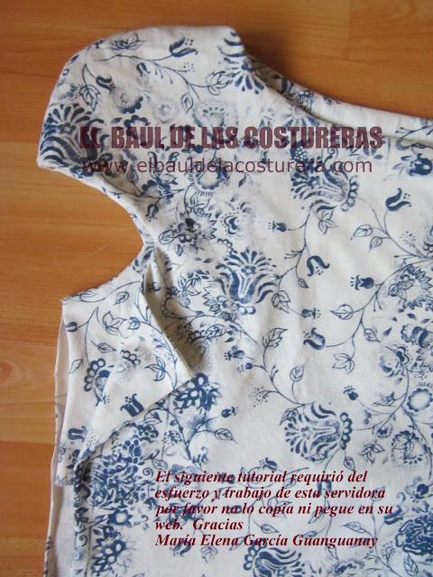 Японская блузка