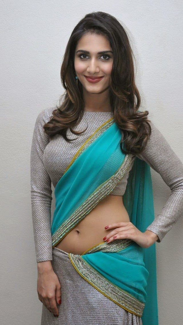 Vaani Kapoor Hot in Saree Wallpapers