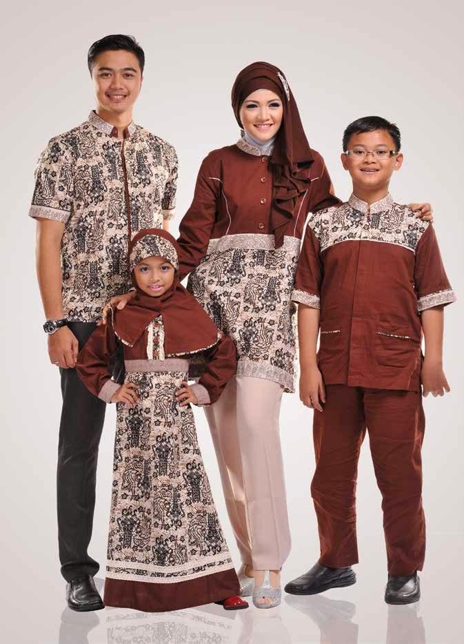 Gambar Model Busana Muslim Batik Anak