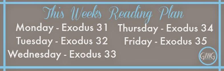 Reading Plan for Exodus