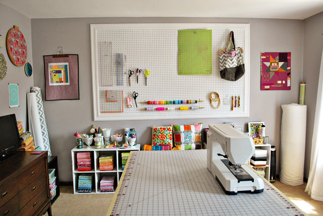 Bijou lovely sewing room tour Sewing room designs