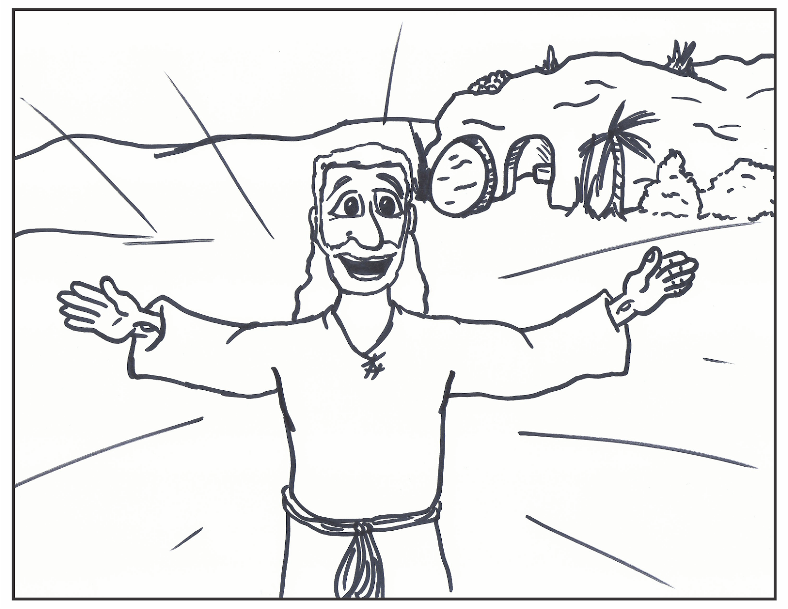 26 Jesus Is Risen Coloring Page Ideas