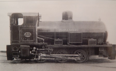 Bedenham Fireless loco