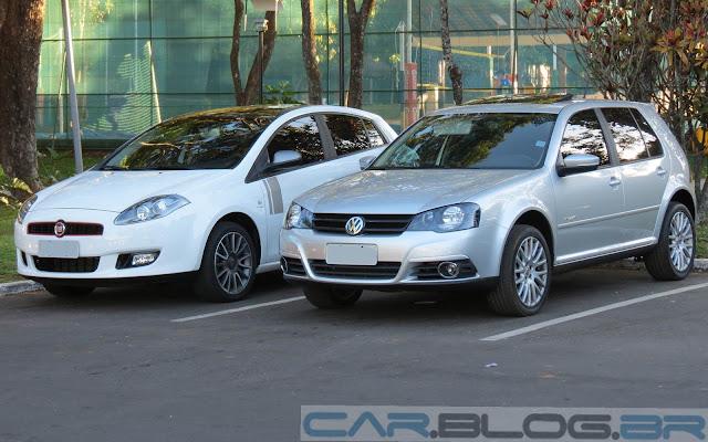 VW Golf 2.0 Sportline TipTronic - vencedor do comparativo