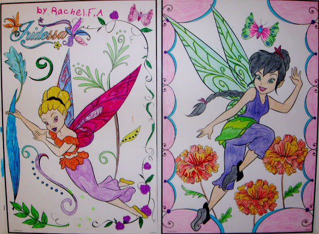 Colored Fairies