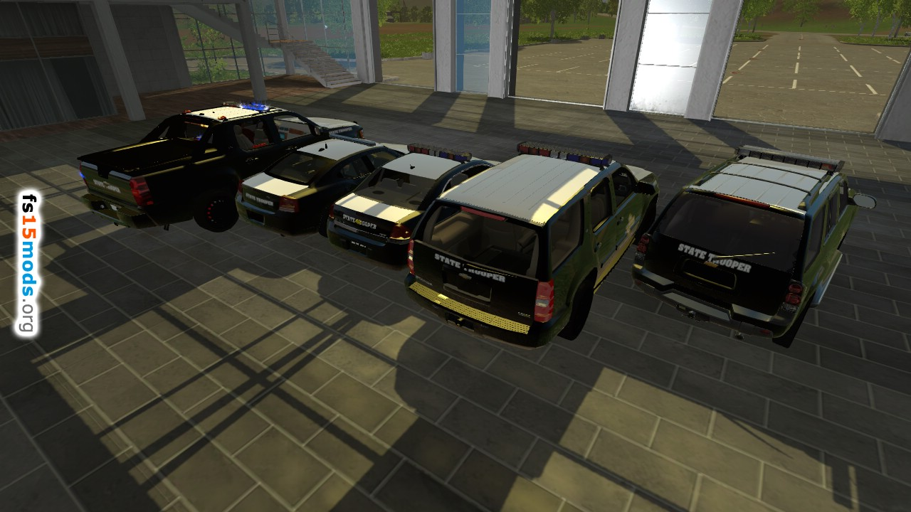 Texas Police Trooper Pack Fs15 Mods