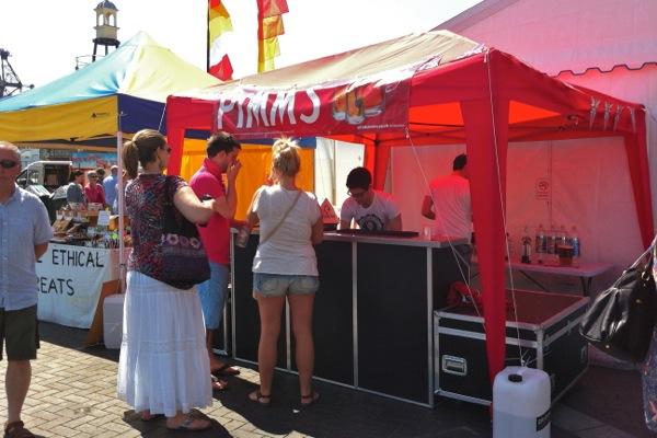 Pimms Stall at VegFest Bristol