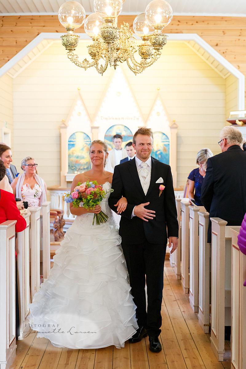 Revheim kirke, bryllup, vielse