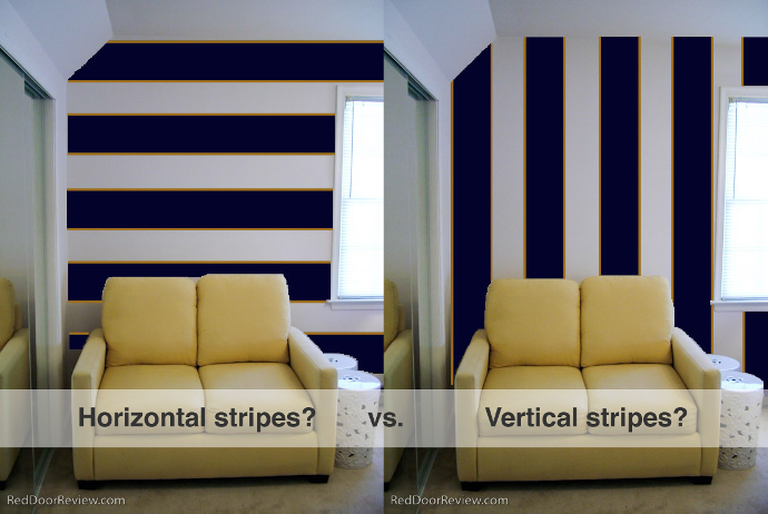 Wall Paint Design Stripes : Wall painting ideas and designs