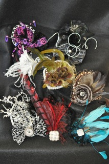 Fascinator from The Hat House NY 347-640-4048