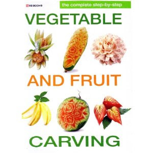 fruit and vegetable carving books