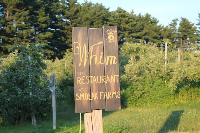 Whim, The Restaurant at Smolak Farms, North Andover, Mass.