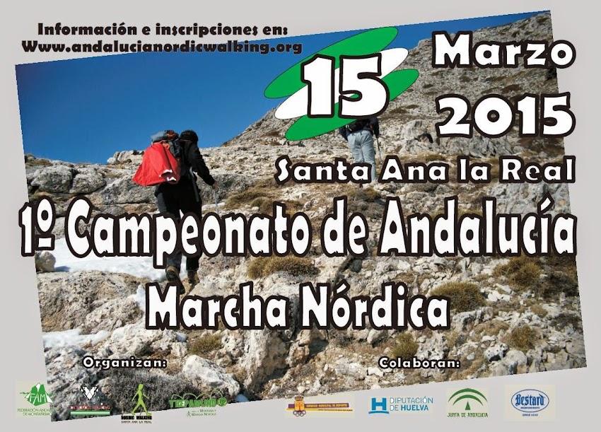 1º CAMPEONATO DE ANDALUCÍA DE MARCHA NÓRDICA - FAM 2015