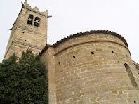 L'absis i el campanar de Sant Andreu de Gurb
