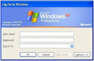 Cara Menonaktifkan login screen classic melalui pengaturan registry windows xp