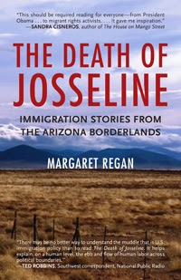 Book cover: The Death of Josseline by Margaret Regan