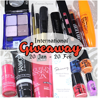 Third Blogiversary Beauty Giveaway: Open Worldwide Wednesday, January 20, 2016 Renu X Beauty, GiveawayThird Blogiversary Beauty Giveaway: Open Worldwide