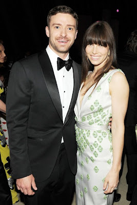 Jessica Biel and Justin