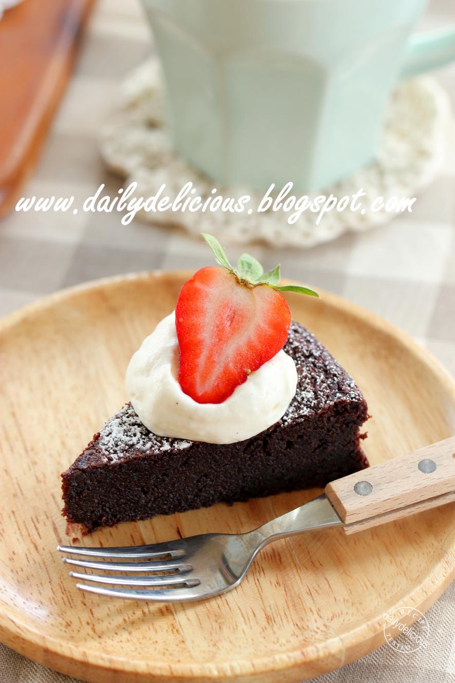 Bowl Cake Chocolat Framboises