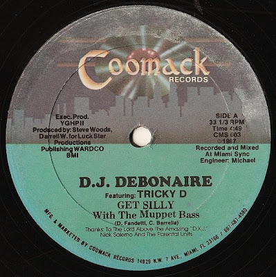 D.J. Debonaire Featuring Tricky D – Get Silly With The Muppet Bass (VLS) (1987) (320 kbps)
