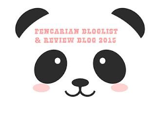 Pencarian Bloglist & Review Blog Ogos - Disember 2015