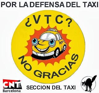 direccion coche taxi garrido barcelona: