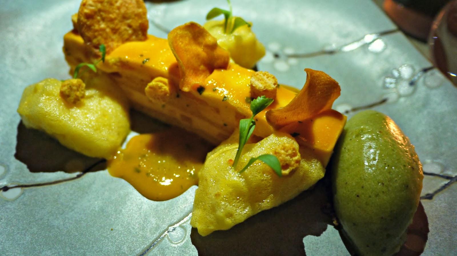 Sushisamba London food review mango mousse