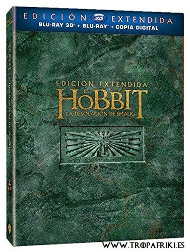 El Hobbit: La Desolación De Smaug - Edición Extendida (Blue-Ray + 3D+ copia digital)