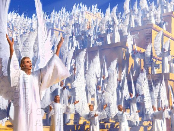 ¡PREPÁRATE PARA SUBIR EN EL RAPTO!: ¡¡¡MI GLORIA ES REAL ... Cantando Santo