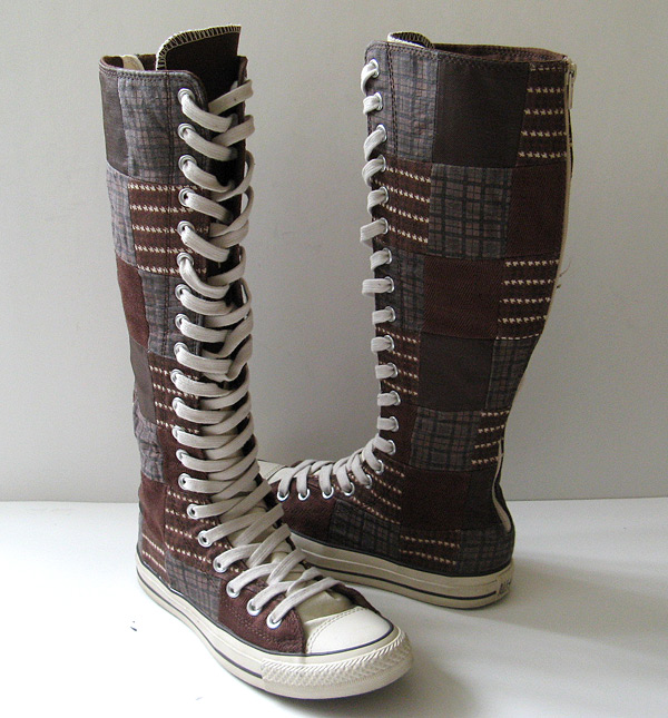 closet converse sneakers knee high chuck