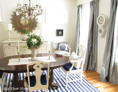 Http Reddoorhome Blogspot Com 2012 01 My Dining Room Redo In Pictures Html