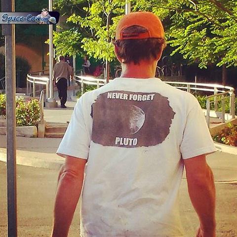 funny things Pluto shirt