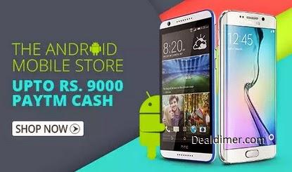 Mobiles Extra upto Rs. 9000 Cashback