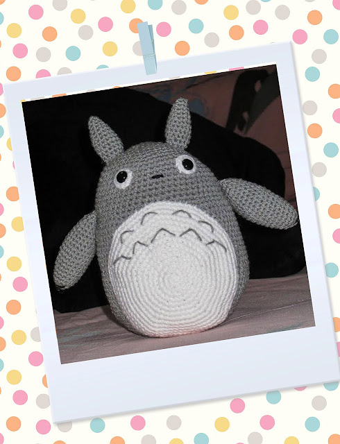 Free Amigurumi Wedding Couple Pattern : Totoro Amigurumi ~ Snacksies Handicraft Corner