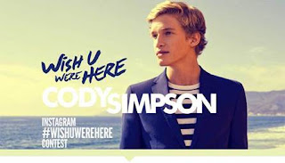 Cody Simpson - Wish U Were Here (feat. Becky G) Lyrics