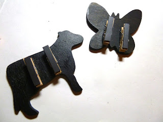 chalkboard clip magnets