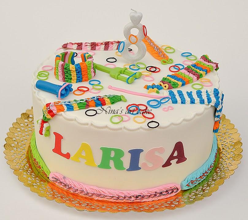 """Tort """"elastice"""" pentru Larisa"""